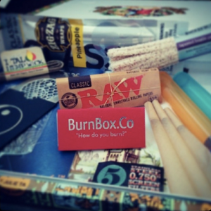 A sample BurnBox..